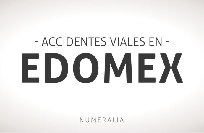 Accidentes viales en el Estado de México